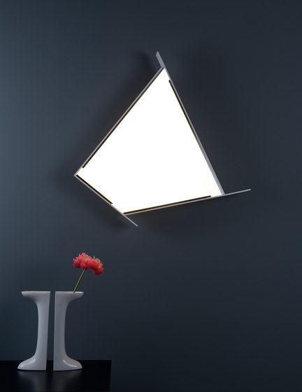 Malevich gr Wall luminaire by Metalarte