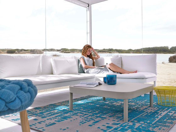 Tropez Chaiselongue de GANDIABLASCO