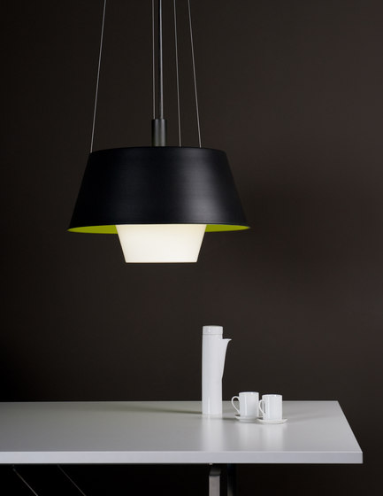 Tanuki pe Suspension lamp by Metalarte