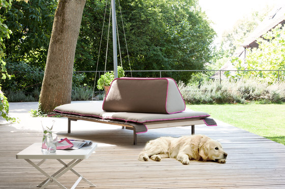Dish's Island Sun Lounger by Richard Lampert