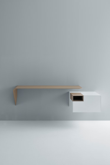 Mamba shelf/desk by MDF Italia
