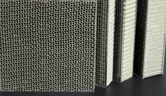 Ecoben wave di bencore prodotto for Pannelli di cartone