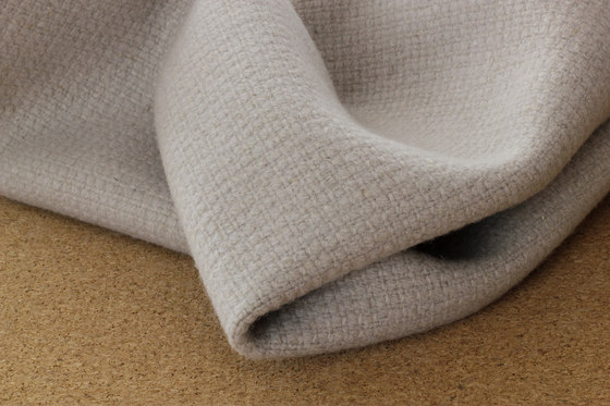 Nettle fibre and wool blended fabric by selected by Materials Council
