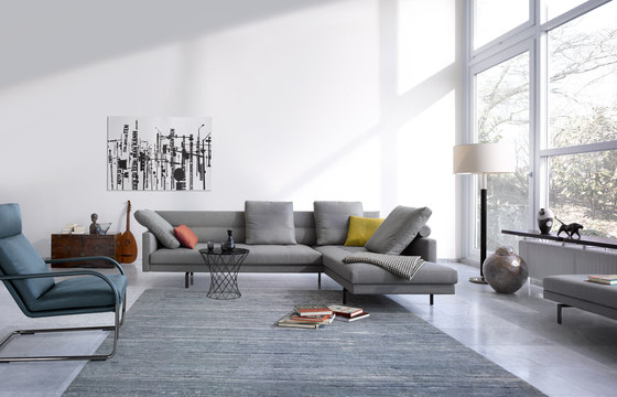 Gordon 495 corner sofa by Walter Knoll