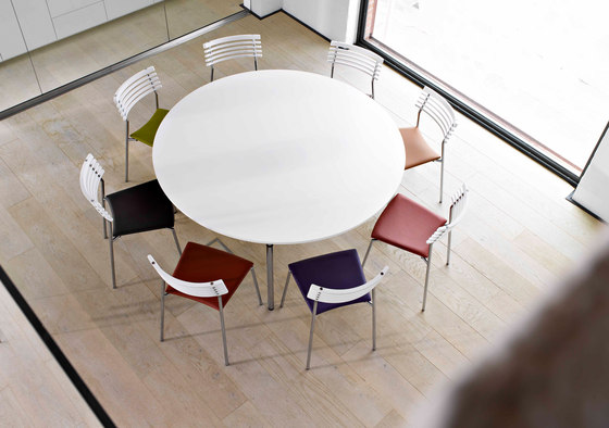 Rail swivel chair di Randers+Radius