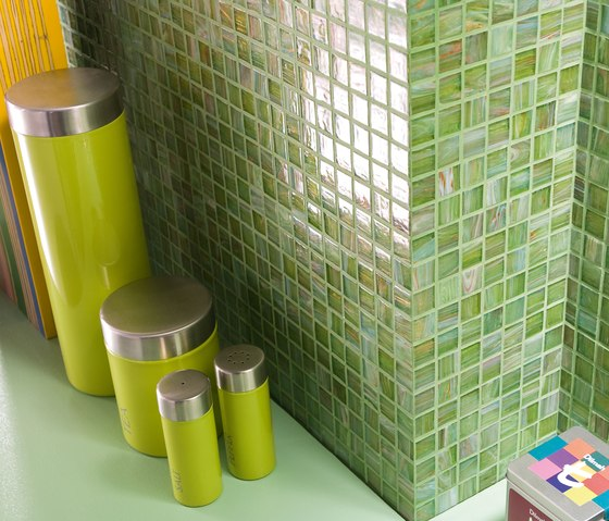 Aurore 20x20 Madreperle by Mosaico+