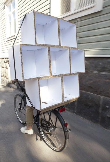 Kasa Cardboard Shelf by Showroom Finland Oy