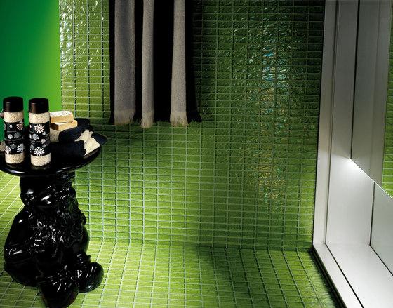 Onde 23x48 Verde R by Mosaico+