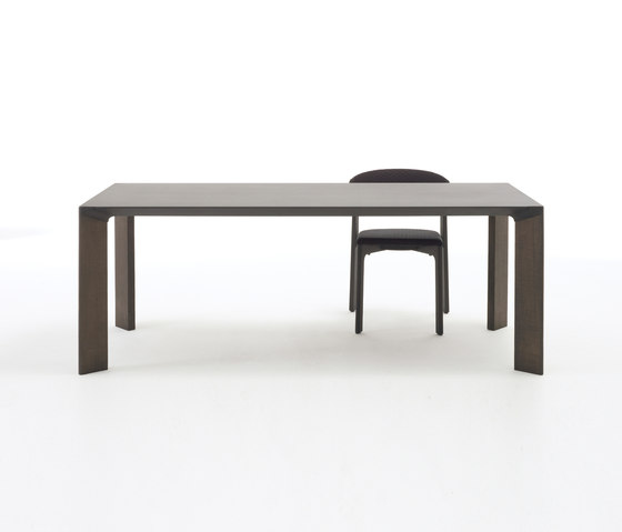 Steel table by Arco