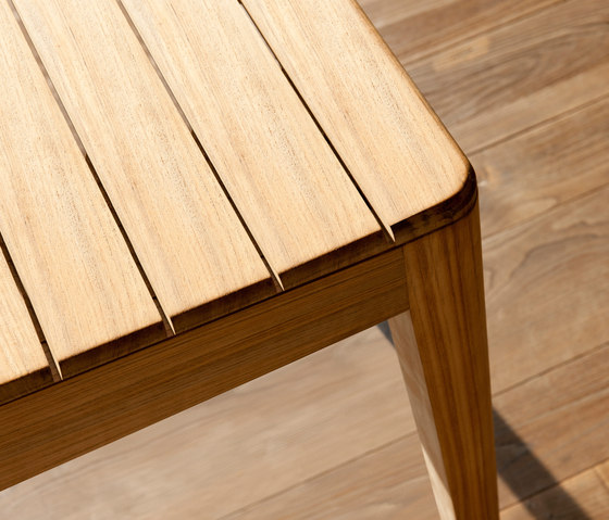 Mood Bar Table | Teak by Tribù