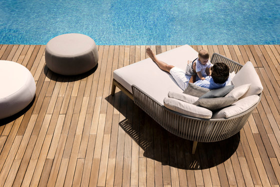 Mood Outdoor Sofa | Teak de Tribù