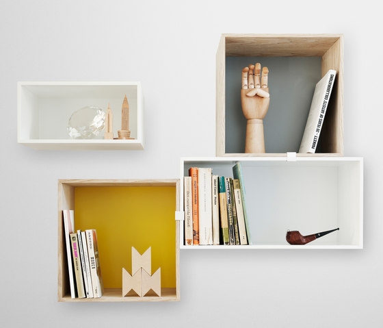 Mini Stacked Shelf Systems* by Muuto