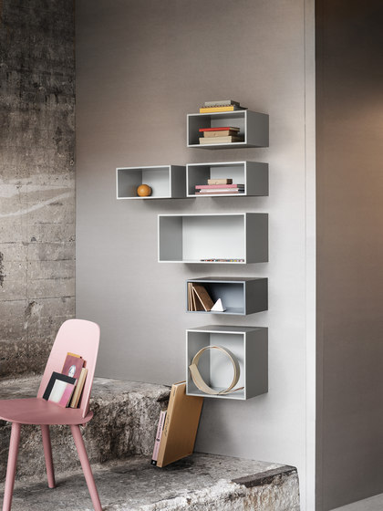 Mini Stacked Shelf Systems Medium* di Muuto