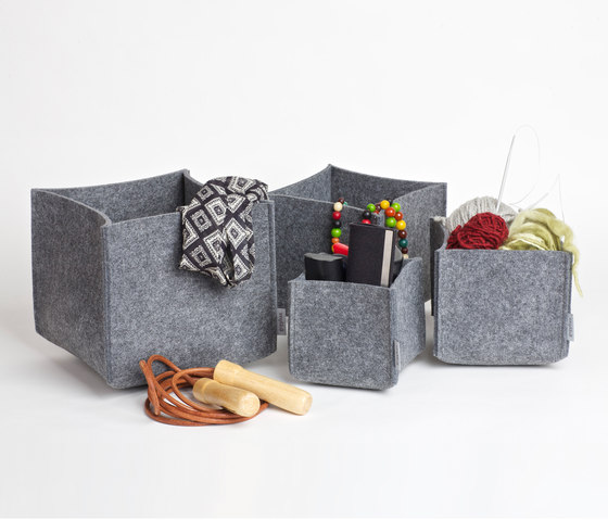 Square Set multi purpose boxes di greybax