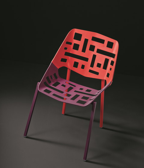 Twin Stacking Chair by Fast