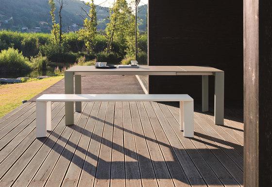 Grande Arche extendible table di Fast