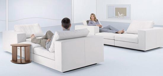 living landscape by walter knoll 750 corner sofa 730. Black Bedroom Furniture Sets. Home Design Ideas