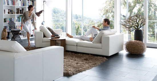 Living Landscape 740 sofa by Walter Knoll