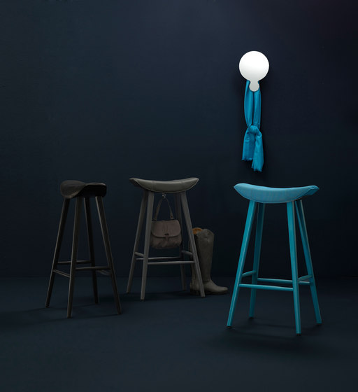 Kya | Stool Seat with wire frame by FREIFRAU MANUFAKTUR