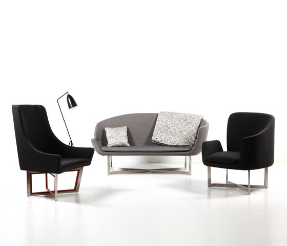 Open Privacy Two-Seater Sofa de Stellar Works