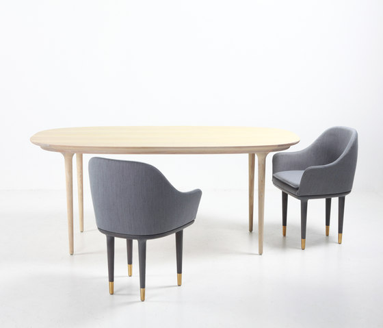 Lunar Dining Chair Small di Stellar Works