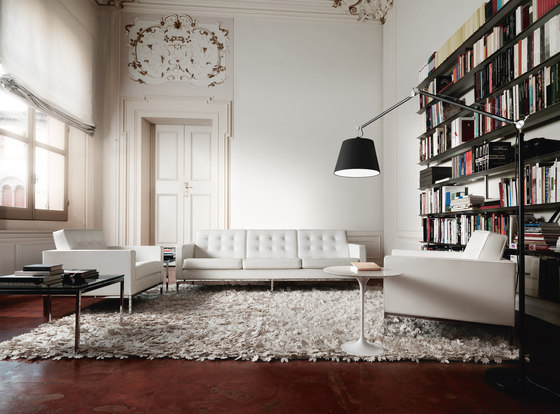 Florence Knoll Lounge 2 seat sofa by Knoll International