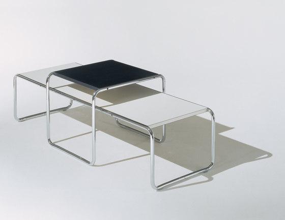 breuer collection von knoll international laccio tisch. Black Bedroom Furniture Sets. Home Design Ideas