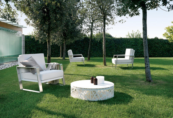 Cossyra armchair by Metalco Home