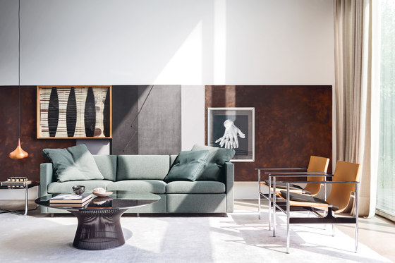 Platner Stuhl von Knoll International