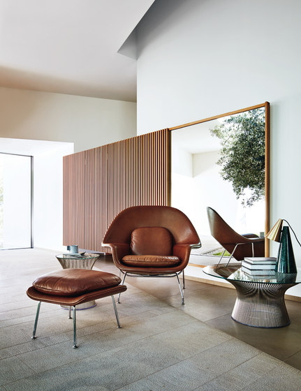 Platner Ottoman di Knoll International
