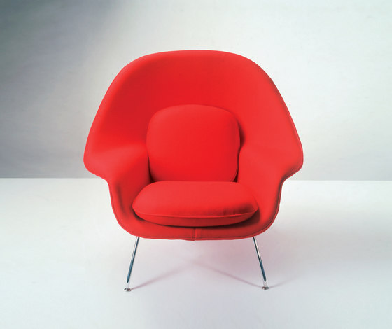 Saarinen Womb Stuhl & Ottoman von Knoll International
