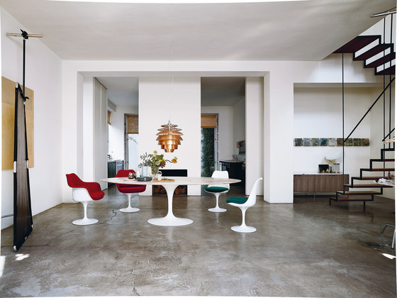 Saarinen Tulip Side chair de Knoll International