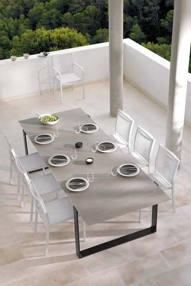 Prato Rectangular dining tables von Manutti