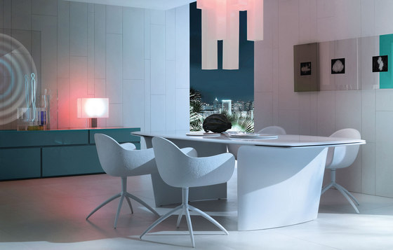 Venus chair by Poliform