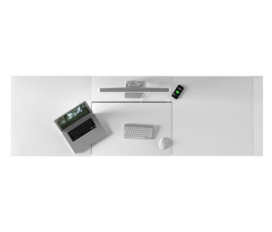 OPERARIUS Schreibtisch von Rechteck