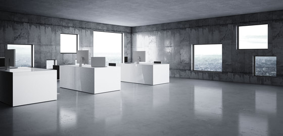 REGERE Desk di Rechteck