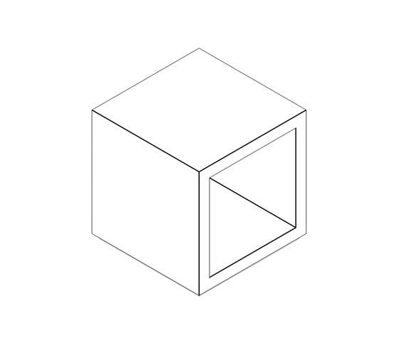 LECTULUS Shelf Cube by Rechteck