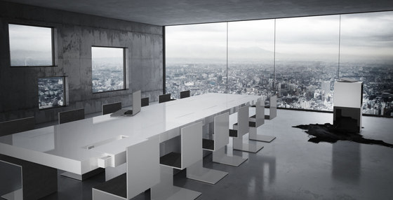 CONVENTUS Conference Table di Rechteck