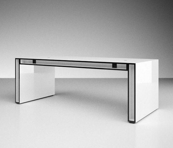 UNA Conference table by Rechteck