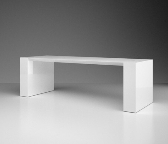 SUMMARUM Leve table de Rechteck