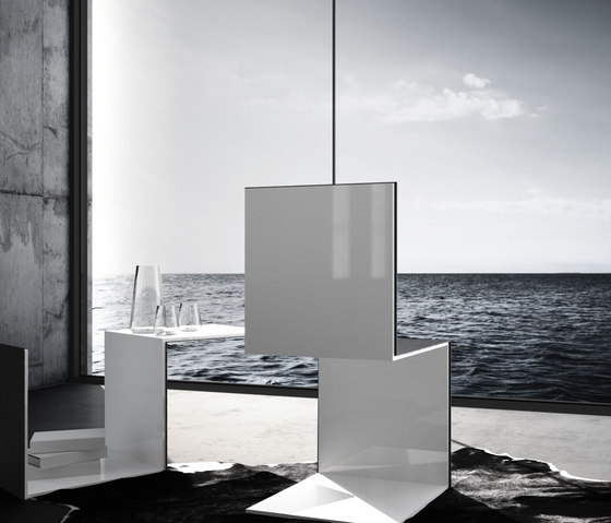 COMMODUS Cantilever Chair di Rechteck
