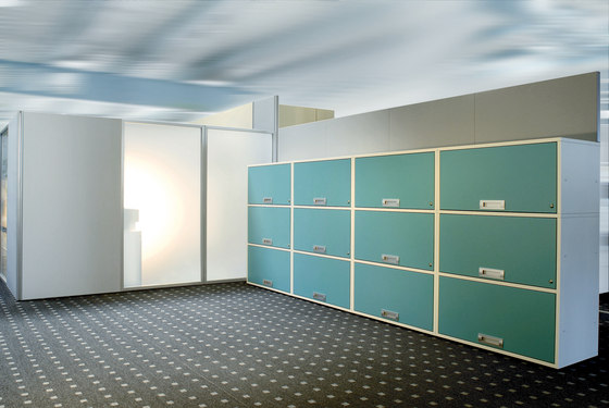 Sitag Room partition walls Ground glass by Sitag