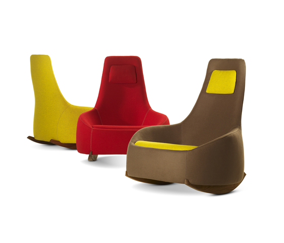 Dim Sum Low Rocking Chair by Montis