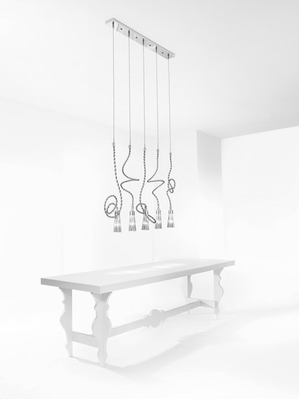 Sultans of Swing chandelier round di Brand van Egmond