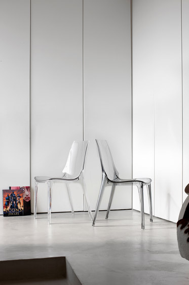 Vanity chair bianco by Scab Design