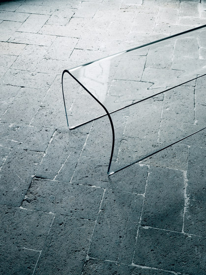 Bent Glass Table von Glas Italia