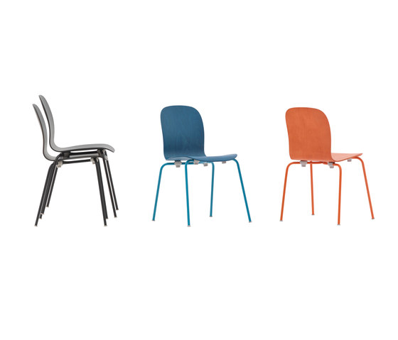 Tate Color Chair de Cappellini