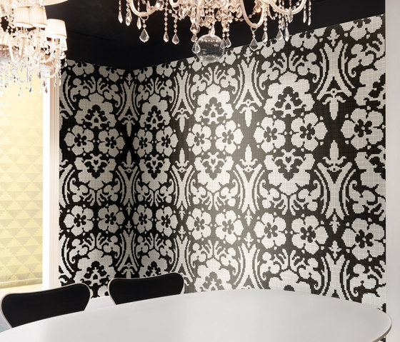 Decoupage Noir by Bisazza