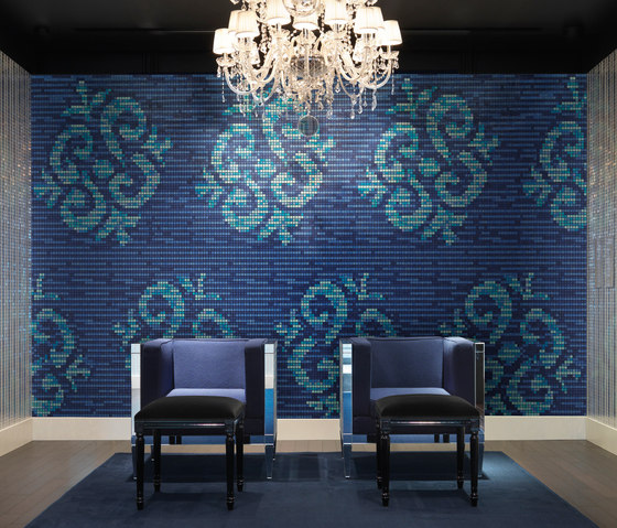 Ginseng Blue by Bisazza