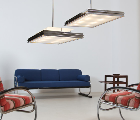 "Pendant Lamp ""Tempelhof "" in the style of the German Modernism by ZEITLOS – BERLIN"